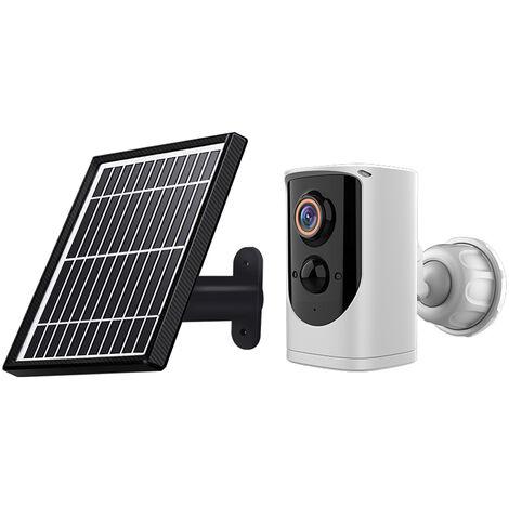 Solar Camera 1080p IP65 WiFi Weatherproof Motion Wireless Camera-Machine Monitoring Outdoor Monitor,model:Multicolor