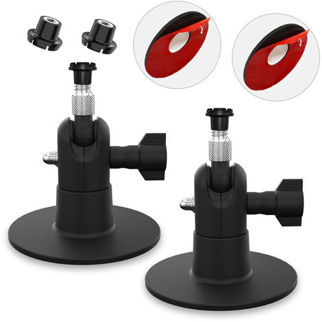 2 Pack Adjustable Wall Mount Compatible with Blink Mini / Blink XT/ XT2 Home Camera Mounting Bracket Outdoor Indoor for Home Security, Black,model:Black 2