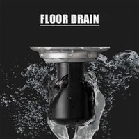 Deodorant floor drain 2424 black