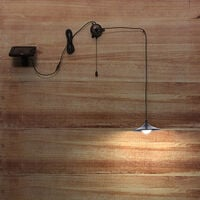 Outdoor hanging solar 4 LED shed light 250lm pendant lamp with remote control