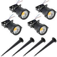 5W 4 Pack COB LED Lawn Lamp