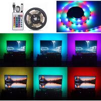 LED light with remote control DC5V 10W 2m 120LEDs RGB