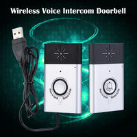 Wireless Voice Intercom Doorbell