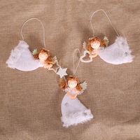 Christmas Tree Ornament Christmas Flying Angel Doll Pendant