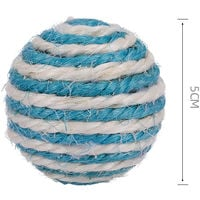 Cat Toy Sisal Ball 5CM Cat Scratch Chew Interactive Toy for Cat