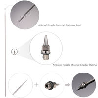 0.2mm Airbrush Nozzle And Needle Replacement for Spraying Paint Maintenance