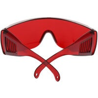 Dental Eye Protection Spectacles Red Goggle Glasses Protective Eye Curing Light Whitening UV For Dentist