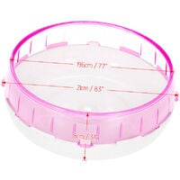 8.3inch Hamster Mice Gerbil Rat Exercise Wheel Silent Spinner PP Run Disc Small Animal Pet Toy