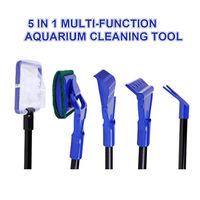 5 in 1 Multi-Function Aquarium Fish Tank Cleaning Tool Aquarium Cleaning Set