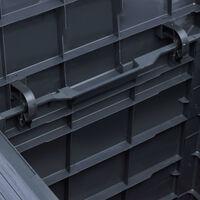 Garden Storage Box 90 L Anthracite