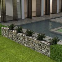 Gabion Basket/Planter/Raised Vegetable Bed Steel 300x30x50 cm