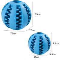 Dog Toy Ball Durable Mint-scented Chew Ball Toys Pet Food Dispensing