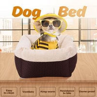 Dog Bed Pet Bed Sofa Pet Mat Removable Washable Cover