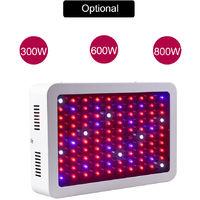 LED Grow Light Bulbs Full Spectrum UV IR Red Blue White Hydroponic Growing Lamp, 600W