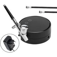 Portable Spray Pump Pen Air Compressor Set for Makeup Art Painting Craft Flower Spray Model Beautiful Airbrush Kits