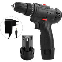12V Multifunctional Electric Impact Cordless Drill High-power Lithium Battery Wireless Rechargeable Hand Drills