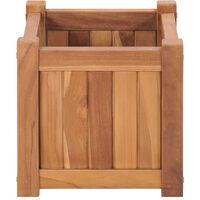 Raised Bed 30x30x30 cm Solid Teak Wood