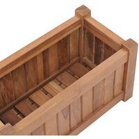 Raised Bed 50x25x25 cm Solid Teak Wood