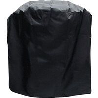 BBQ Grill Cover Barbecue Gas Grill Cover 210D Waterproof Heavy Duty Rip Resistant Dust-Proof Charcoal Electric Grill Cover