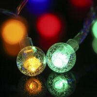 64Led White Christmas Tree Decoration Garland Of Light Lantern Day Of Christmas On 3 Mode Lighting Color Light Remote