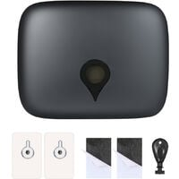 CHUANGDIAN wall-mounted tissue box, for hotel toilet, Grey