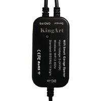 Smart WiFi remote control garage door switch, WiFi mobile phone remote control garage door smart switch voice control black