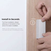 WiFi smart door sensor, APP remote control alarm information push Model: M0802070002 (shipping without battery)