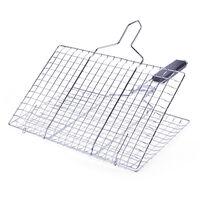 BBQ grill net, detachable folding grill square, neutral