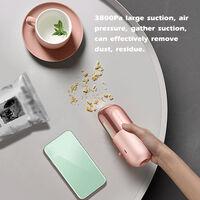 Vacuum Cleaner Wireless Mini Vacuum Cleaner 45W Portable Household Cleaner Multifunctional Hand Held Vacuum Cleaner Gift,model:Pink
