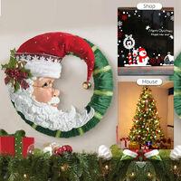 Christmas Decoration Christmas Decoration Stickers Christmas Decorations Indoors Wall Decorations Shop Window Decorations for Christmas,model:Multicolor Type H
