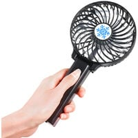 Portable USB Lithium Battery Rechargeable Fan Ventilation Foldable Air Conditioning Fans Foldable Cooler Mini Operated Hand Held Cooling Fan for Outdoor Home (Black),model:Green