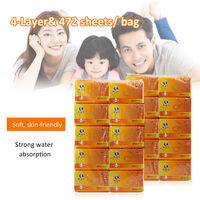 10 Packs Tissue Paper Towels NapkinsPumps Soft Tissue-friendly Toilet Paper,model: 10 packs