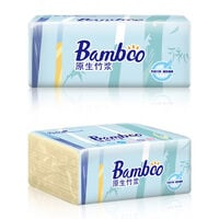 4-Layer Multi-Fold Paper Towels Facial Tissue 300 Per Pack Thicken Paper Towel Soft & Strong Pocket Design,model:Burlywood