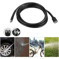 5800PSI High Pressure M14 X M22 Jet Washer Hose Tube Replacement for Karcher K2 K3 6M,model: 6m