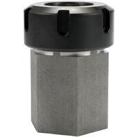 Hard Steel Hex CNC Engraving Cutting Machine Lathe Tool Holder ER-32 Collet Block