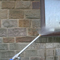 Good Quality Alloy Wash Tube Hose Car High Pressure Power Water Jet Washer with 2 Spray Tips Tools Auto Maintenance Cleaner Watering Lawn Garden,model:Dark blue