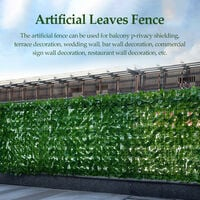 Courtyard Fence Home Artificial Garden Fence Gardening Decorative Tools Home Yard Balcony Fence,model: 0.5-1.0m-watermelon leaves