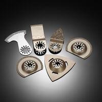 6pcs Mix Oscillating Saw Wed Kit Multi Tool Carbide Rasp Multitool Accessory