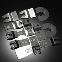 KKmoon 12pcs Oscillating Saw Web Quick Release Kit Multi Tool Saw Web Multitool Accessory