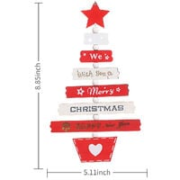 Christmas Tree Hanging Decoration Tree Shaped Ornament Thanksgiving Day Wedding Decoration Winter Ornament Xmas Tree Gift Holiday Festivals Dinner Decor,model:Pink