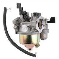 Carburetor Carb Fit for Honda GX160 GX168F GX200 5.5HP 6.5HP + Fuel Pipe Gasket Engine,model:Silver