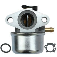Carburetor with Gasket Fit for BRIGGS & STRATTON 799868 498254 497347 497314 498170 694202 Engine Replacement Motor Generator Mower,model:Silver