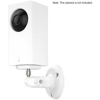 2 Pack Adjustable Wall Mount for ARLO HD/ARLO PRO/ARLO PRO2/ARLO GO/ARLO ULTRA/WYZE CAM PAN Home Camera Mounting Bracket Outdoor Indoor for Home Security, White,model:White 2PCS