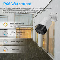5MP Super High Definition PoE Camera Outdoor Indoor Security Camera Video Surveillance IR Night Vision Motion Detection Remote Access,model:White