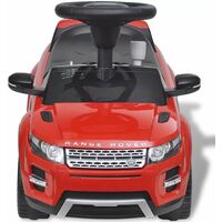 Land Rover 348 Kids Ride-on Car with Music Red