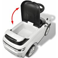 Land Rover 348 Kids Ride-on Car with Music White