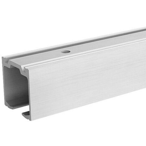 Aluminium-Laufschiene für SLID'UP 160, 170, 190 Laufschiene 200 cm, zur Ergänzung, für Durchgangstüren, Holztüren,