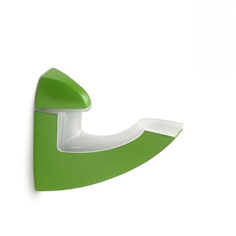 Support réglable pour étagères en verre et en bois de style décoratif, en zamak et fini en pomme.