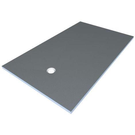 Receveur rectangle Wedi Fundo Primo écoulement excentré 1600x900x40mm