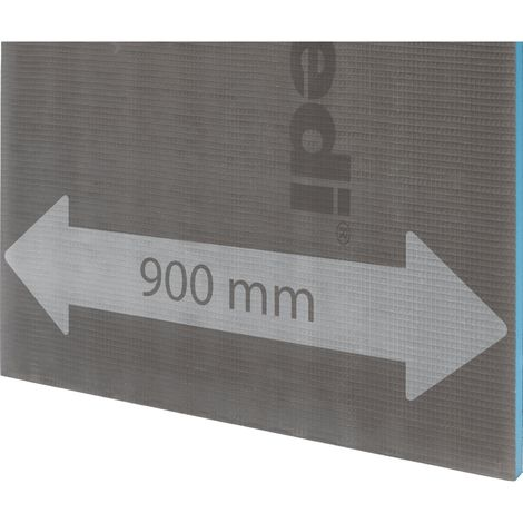 Panneau construction XL Wedi 2500x900x20mm